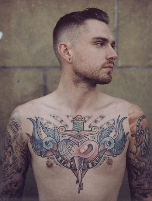 Torso old school tattoo | Smoke and tattoos | Pinterest ...