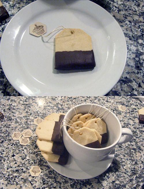 Cookies-sachet de thé
