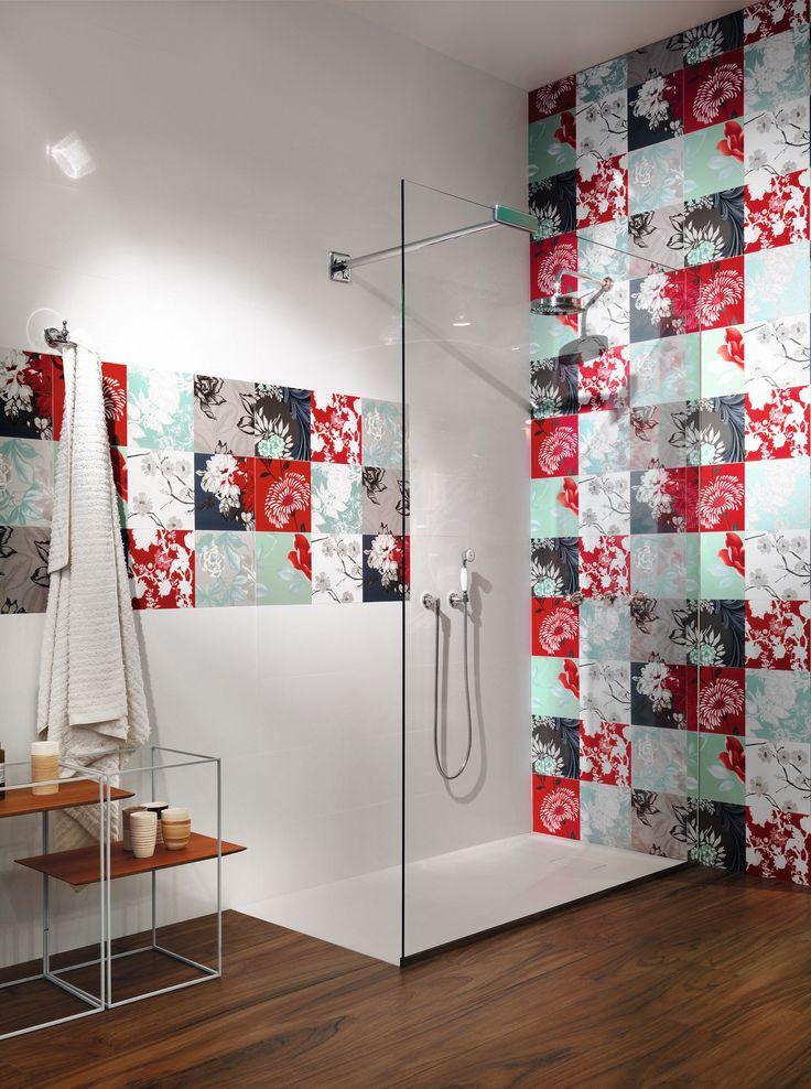 White paste wall tiles italian dream sant agostino - Sant agostino ceramiche bagno ...