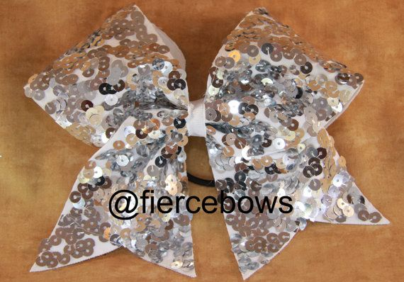 Cheer Bow. its sho sparkly!
