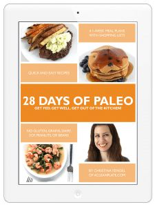 "Have you been hearing about ""the caveman diet""? Eating Paleo is actually pretty straightforward! It's all about increasing the nutrient-density of your diet while avoiding nutrient-poor or inflammatory foods. There are a TON of foods to choose from! And it doesn't have to be hard or expensive. While high-quality foods like grass-fed and pasture-raised meat, …"