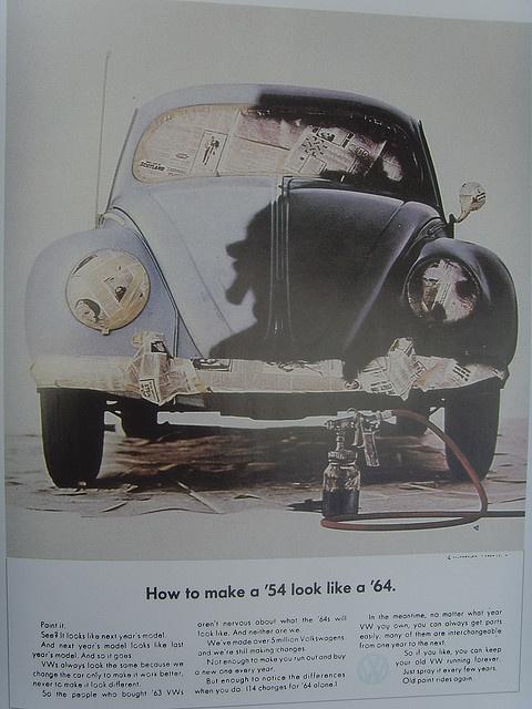 VW Beetle ads
