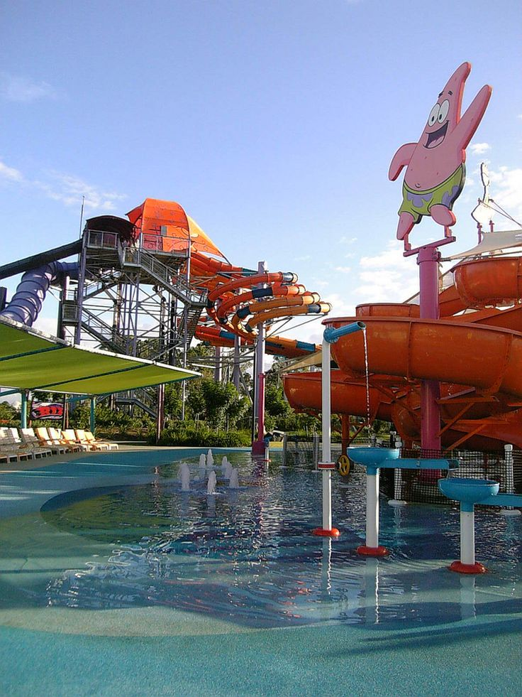 WhiteWater World on the #GoldCoast #Australia has the best Nickelodeon water slide ever! And we have the most amazing #hotel deals too! Best #getaway activities!