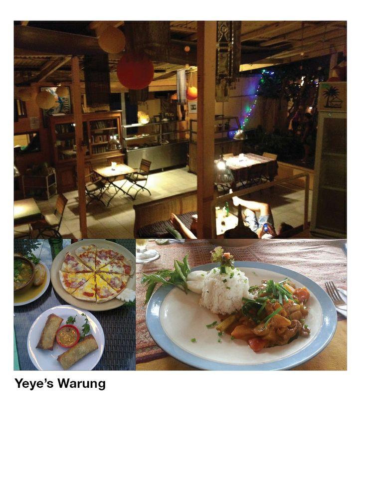 Yeye's Warung  Photo by: Katie Allen
