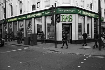 Holland & Barrett various stores throughout Glasgow & surrounding areas