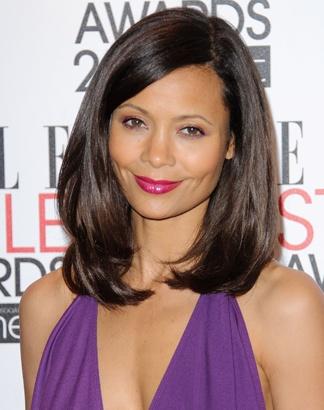 Thandie Newton: perfect hair, perfect make-up, perfect skin!
