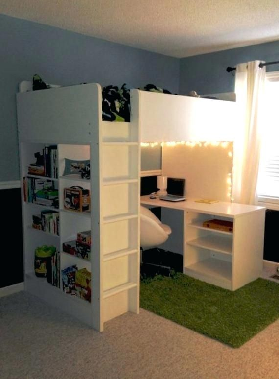 Bunk Bed Desk Combo Ikea Photo 4 Of 5
