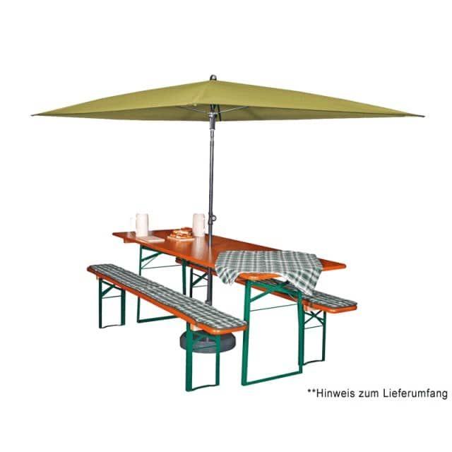 doppler Sonnenschirm Sunline Waterproof 230x190 cm, ohne Volant - doppler Garten Shop