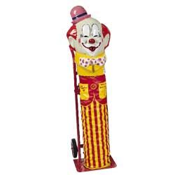 ENTERTAINMENT: Windy the Clown Helium Balloon Tank - keep around for balloon shaping guys