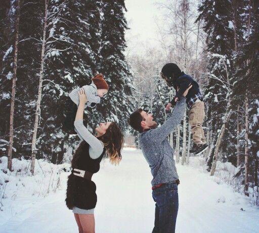 January Family Photo Ideas
