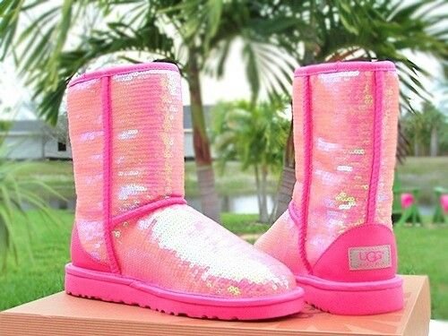 Pink ugg's I hate these