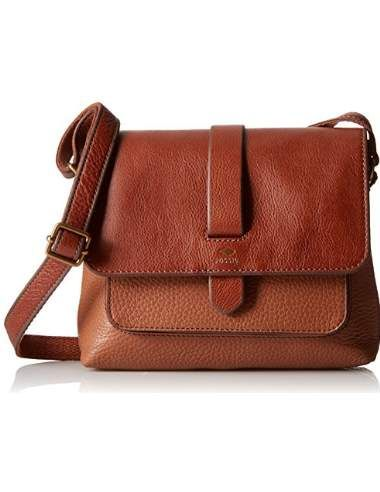 Fossil Kinley Cross Body bag in brown. Perfect every day bag! 2016 trends via…