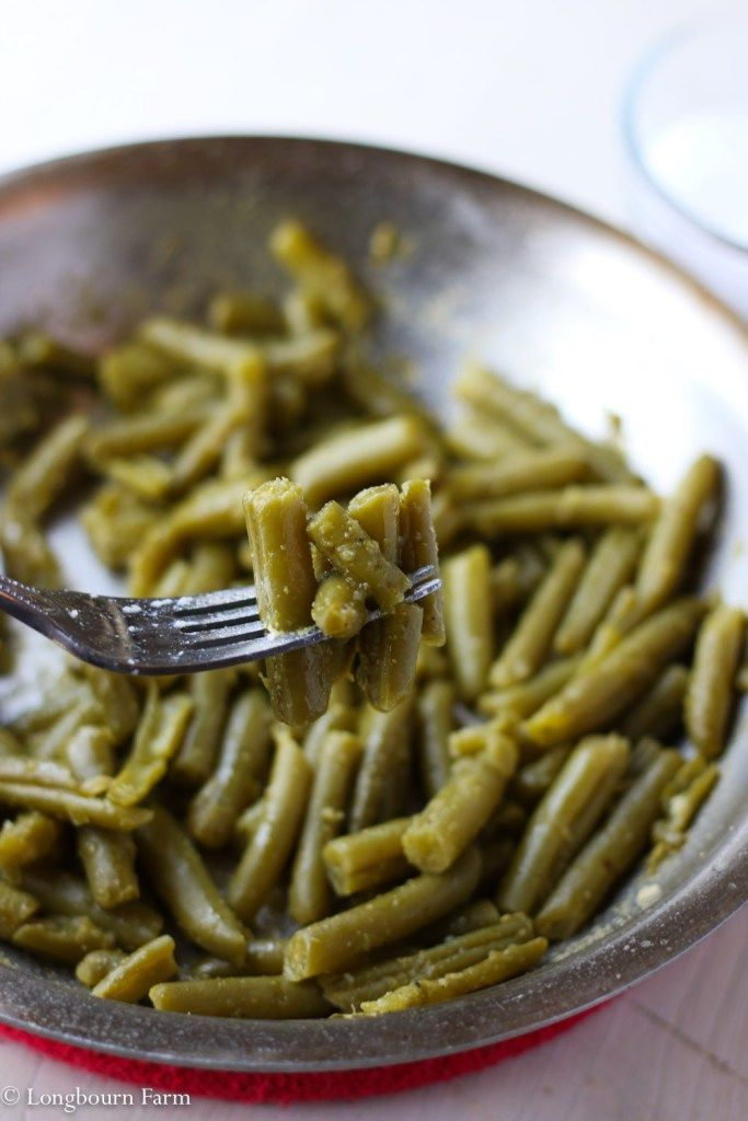 Easy+Canned+Green+Bean+Recipe!