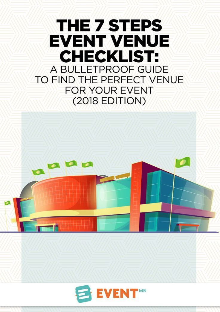 The 7 Steps Event Venue Checklist (2018 edition) A Bulletproof - Event Plan Template