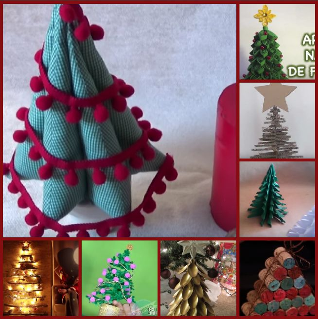 8 originales rboles de navidad ideales para casas - Arboles de navidad pequenos ...