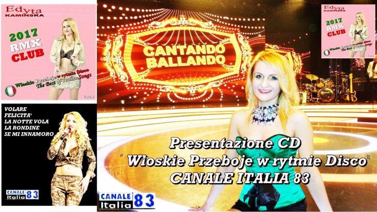 """Edyta Kaminska - PRESENTAZIONE CD"""" WLOSKIE PRZEBOJE W RYTMIE DISCO-RMX C..."""