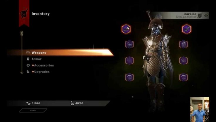 Dragon Age Inquisition all characters full lvl gears and weapons