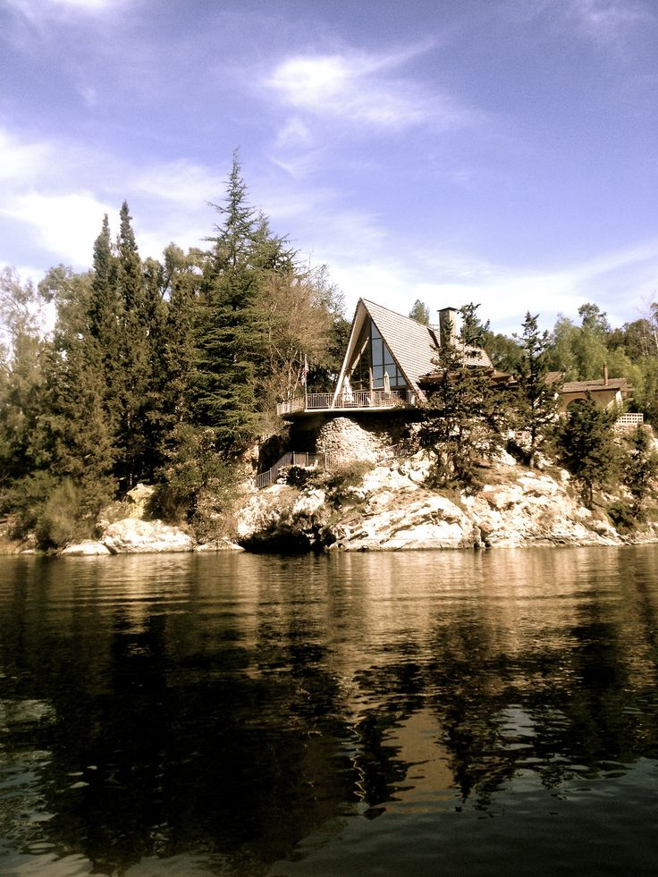 A-Frame Cabin on the lake