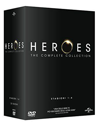 Heroes - Stagioni 1-4 (Boxset) (23 DVD)