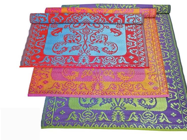 Koko Duotone Plastic Floormat 4 X 6 Modern Outdoor Rugs Outdoor Plastic Rug Plastic Floor Mat