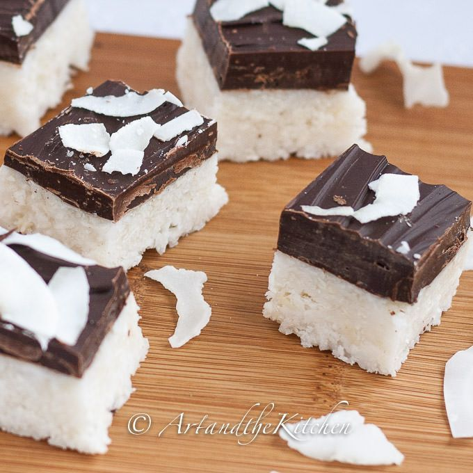 homemade coconut bars 2