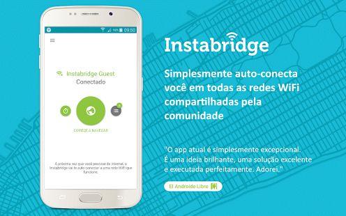 Senha WiFi grátis Instabridge: miniatura da captura de tela