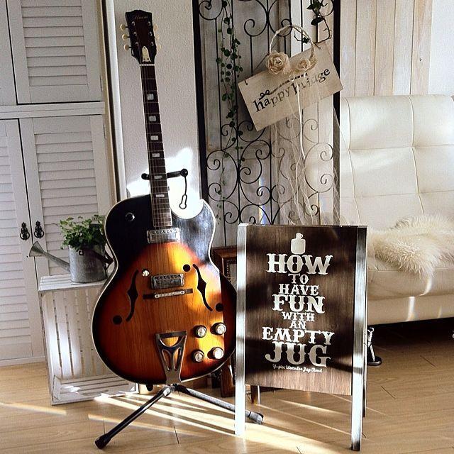 旦那在籍バンド/ユウグレ・ウォータルー・ジャグ・バンド/タムタム/楽器のある部屋…などのインテリア実例 - 2013-12-25 08:57:02   RoomClip(ルームクリップ)