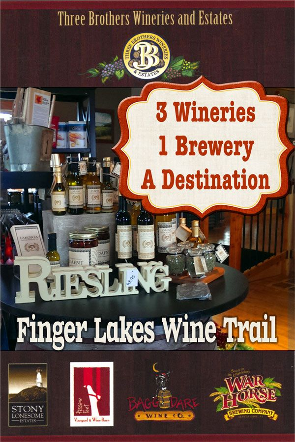 Three Brothers Winetasting Along The Fingerlakes Wine Trail