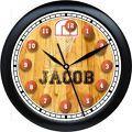 PERSONALIZED BASKETBALL WALL CLOCK B...