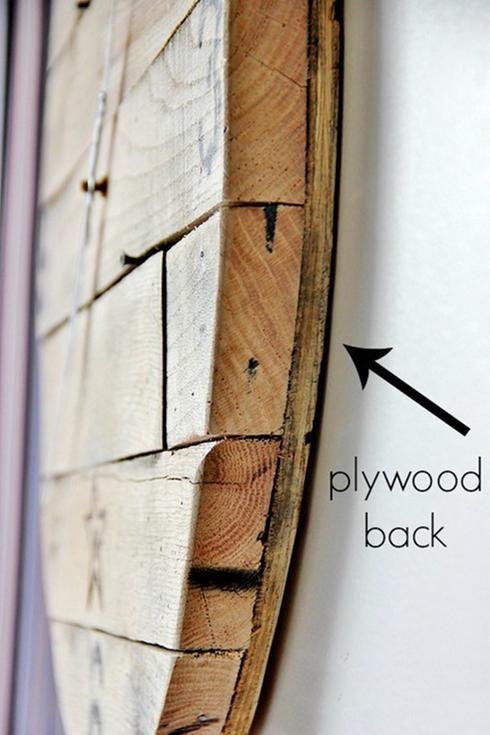Comment faire 5 horloges rustiques avec du bois récupéré
