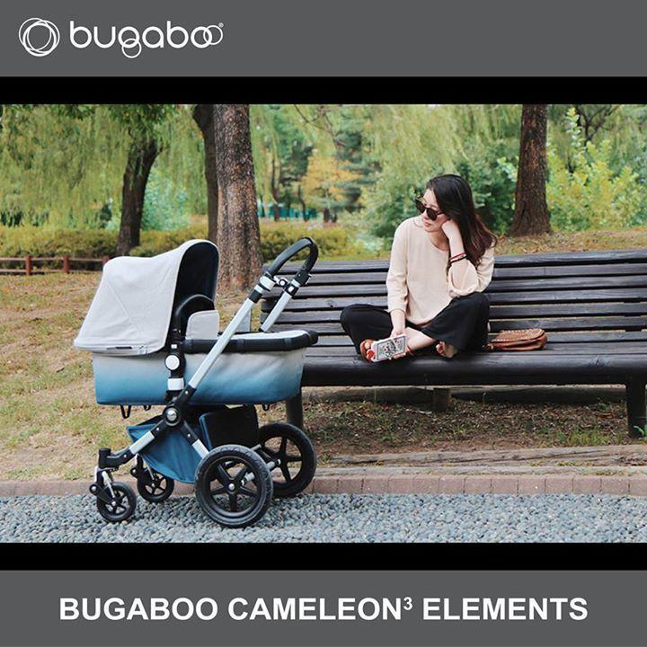 Ken jij de Bugaboo Cameleon³+ Elements al?  De Bugaboo Cameleon³+ is een handige, veelzijdige en vakkundige kinderwagen. Net als een echte Bugaboo cameleon, past de Bugaboo Cameleon³+ zich moeiteloos aan de omgeving aan. Zo kun je de wagen, met een wakker of slapend kind, zowel op verhard als onverhard terrein laten rijden, welke weersomstandigheden zich ook voordoen. Het zitje, de duwbeugel, je kunt het zo gek niet bedenken of het is verstelbaar naar gelang jouw steeds veranderende wensen…