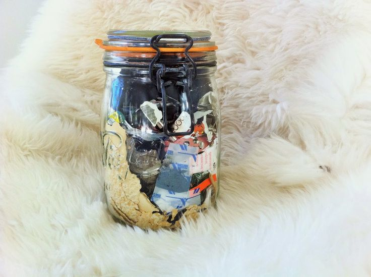 Zero Waste Home: What's in our family's jar of annual waste?