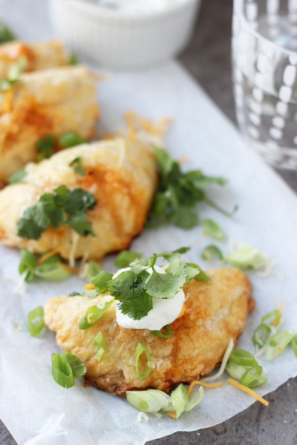 Chicken Enchilada Empanadas | Recipe | Pastries, Cooking ...