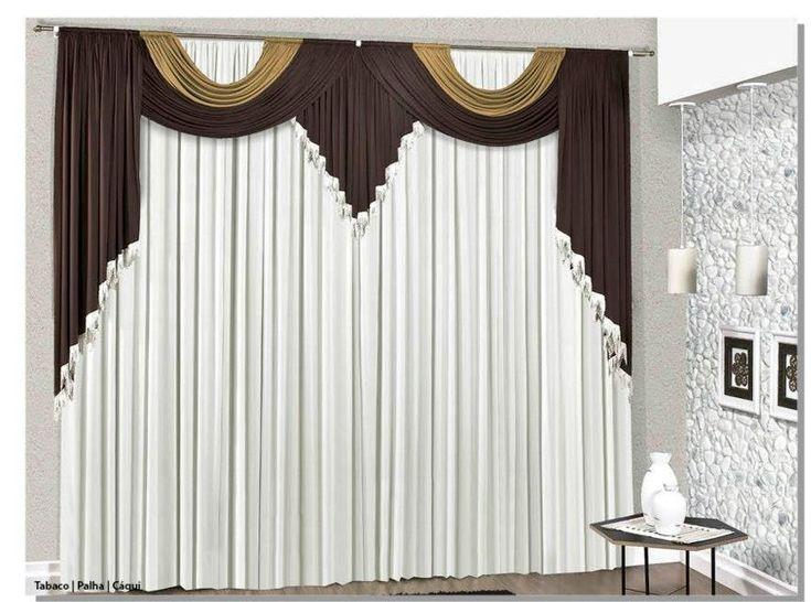 1000 ideas sobre cortinas elegantes para sala en for Ver modelos de cortinas