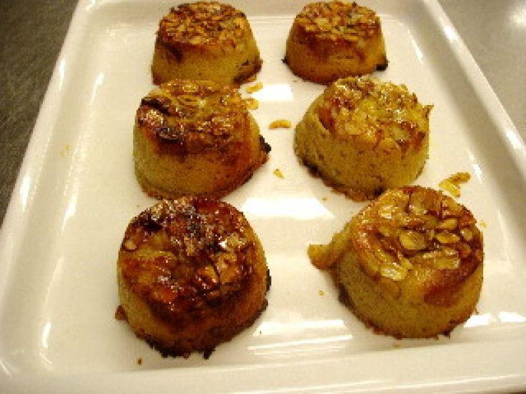 Tofu-banan kage med hasselnødder