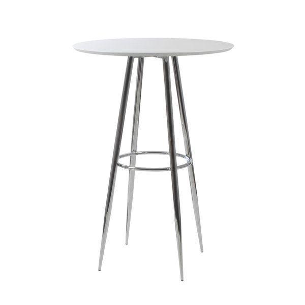 Bravo-B White Bar Table