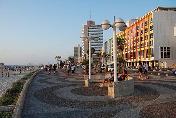 Promenade (tayelet) de Tel-Aviv