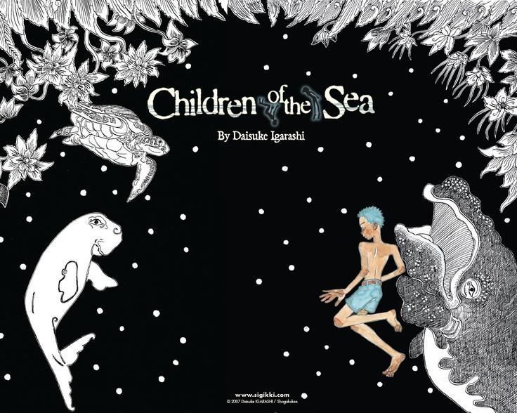 Children of the Sea (Daisuke Igarashi) via mckido.tumblr.com