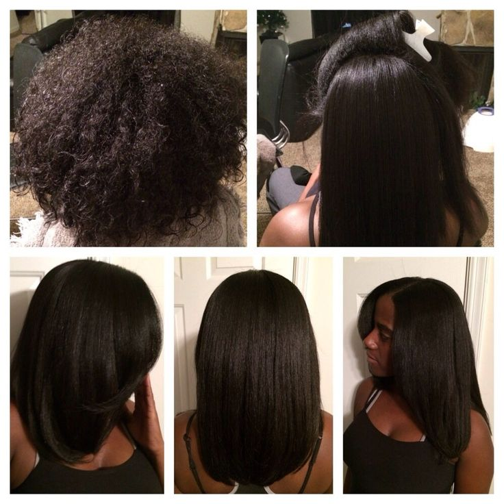 What is a silk press and why is it considered the best straightening method for curly girls?