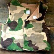 Cozy Fleece Vest - via @Craftsy