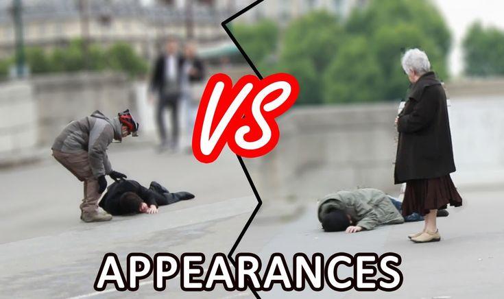 LE POIDS DES APPARENCES (Expérience sociale)   The importance of appeara...