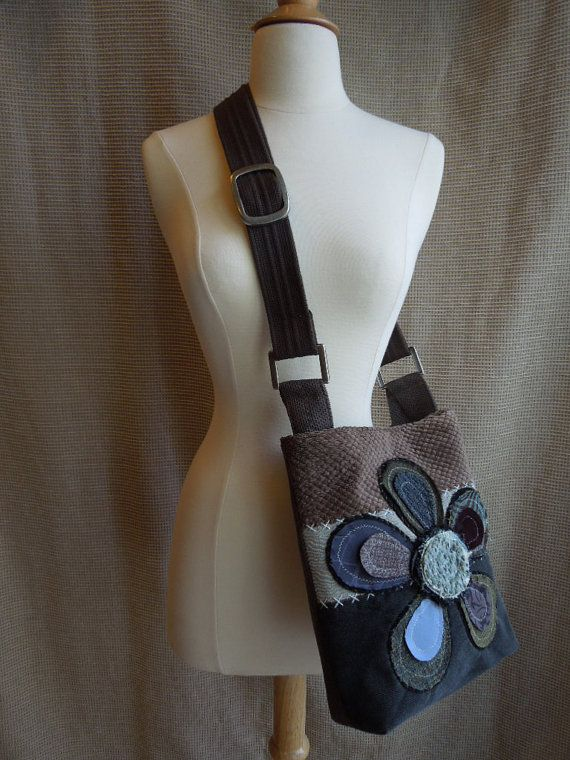 RESERVED for DEBBIE CROSSBODY Hobo Bag in by WhimsyEyeDesigns, $58.00