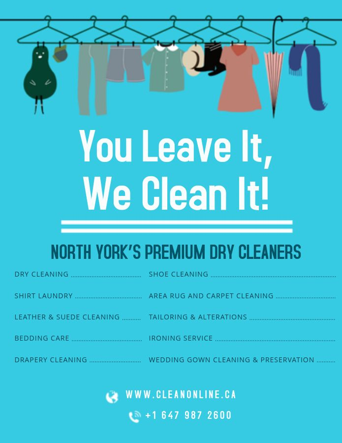 Online Dry Cleaning Laundry Services Dry Cleaning Services Dry Cleaning North York