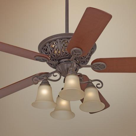 """52"""" Costa del Sol™ Scroll Ceiling Fan"""