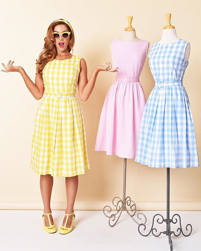All three dresses are perfectly lovely …
