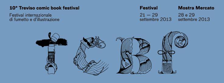 tcbf Banner 24 #comics #treviso #italy #tcbf13 Treviso Comic #Book #Festival #fabiomarangoni #elisaferro