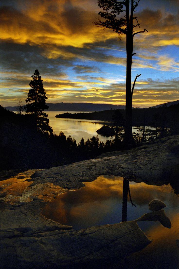 Lake tahoe sunset travel channel pinterest - Sunsets