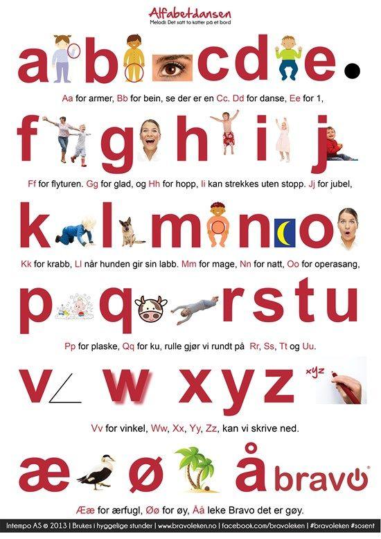 Hør den nye alfabetdansen og last ned sangark til alle Bravo-sangene.