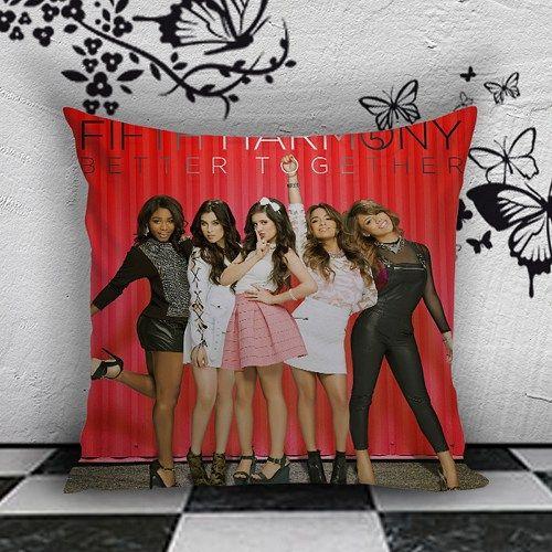 BDP 101 Fifth Harmony - Pillow Case 16x16, 2 side | PodoMoro - Home & Garden on ArtFire