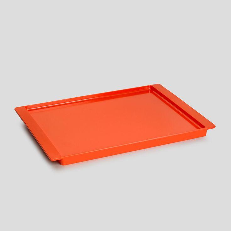 PANTONE Universe, Serving tray, Orange Tangerine Tango, Design by Room Copenhagen